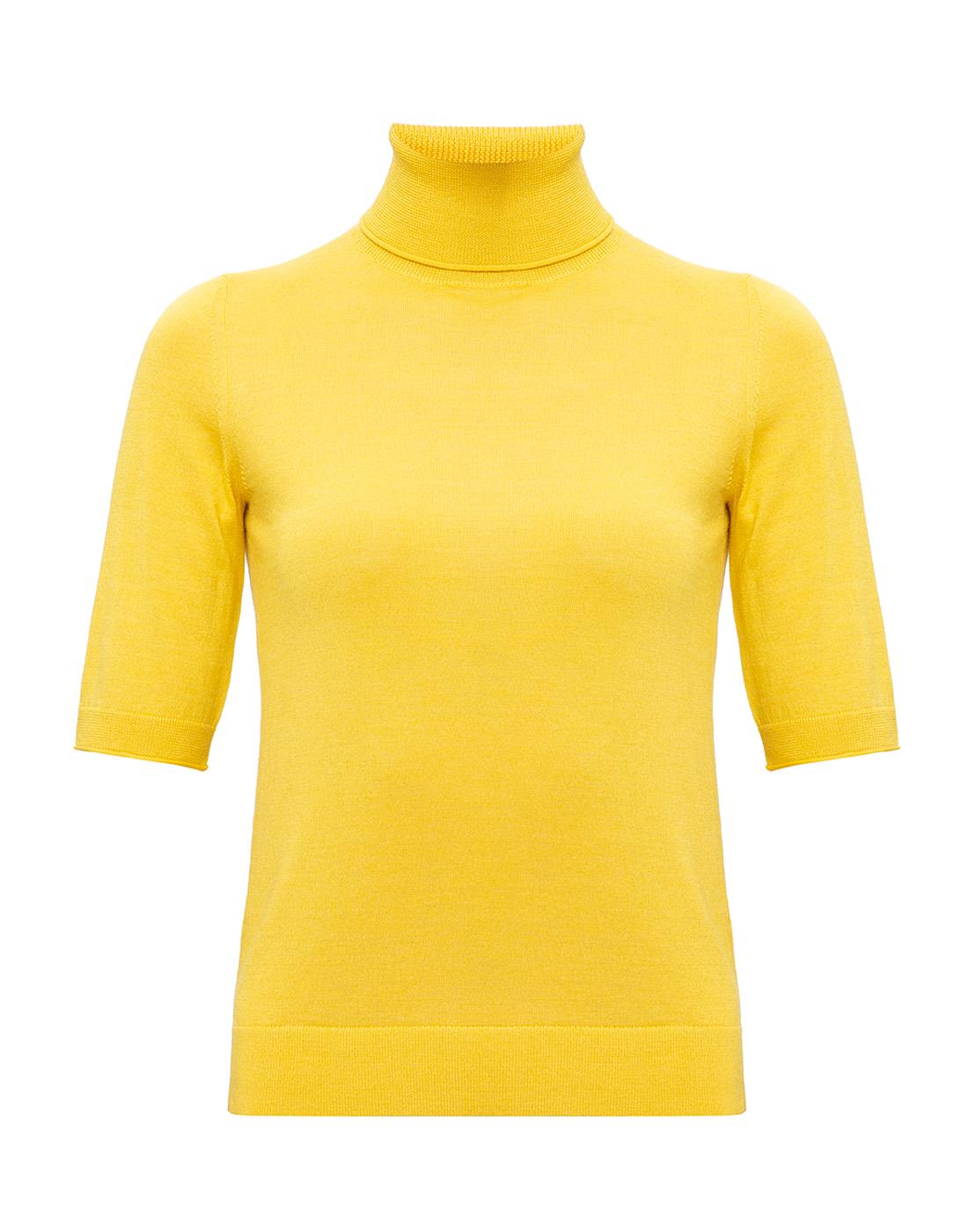 Женский желтый джемпер  Dorothee Schumacher S610802/224-1