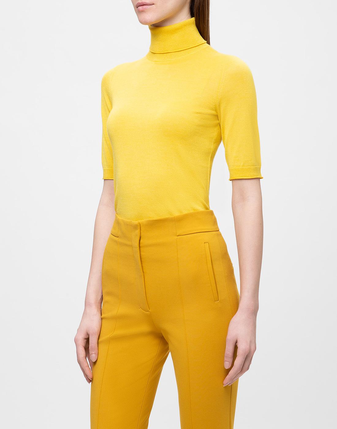 Женский желтый джемпер  Dorothee Schumacher S610802/224-3