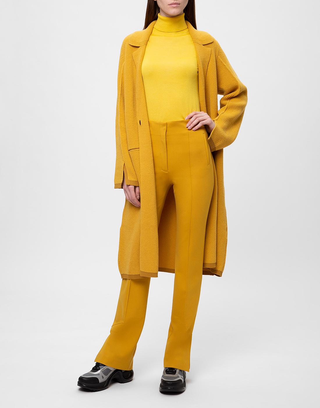 Женский желтый джемпер  Dorothee Schumacher S610802/224-5