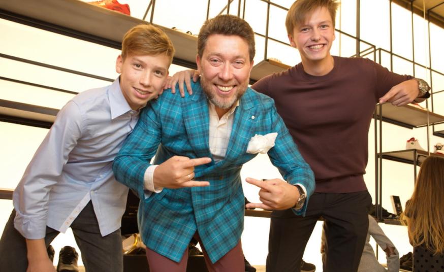 Андрей Здесенко, учредитель Charisma Fashion Group