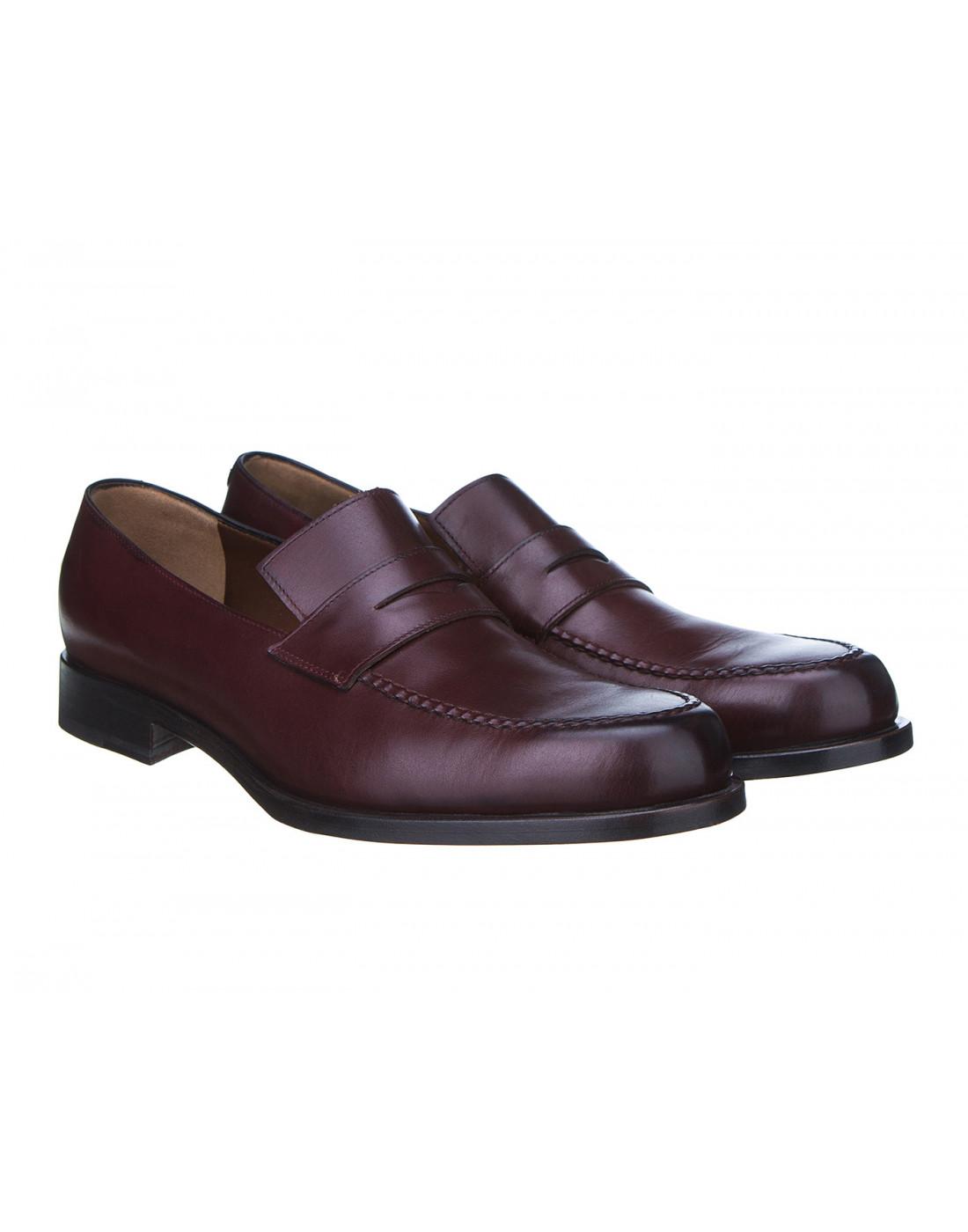 Туфли коричневые мужские Fratelli Rossetti S12597-2