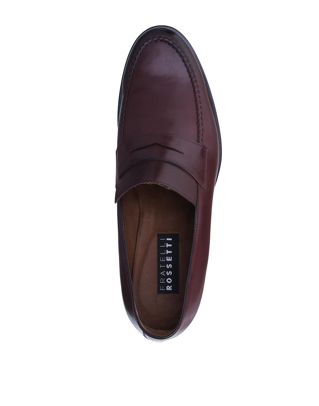 Туфли коричневые мужские Fratelli Rossetti S12597-5