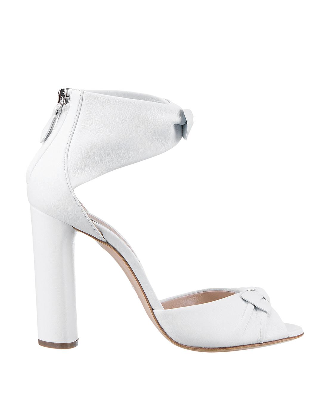 Босоножки белые женские  Casadei S1L530P1001MINOR9999-1