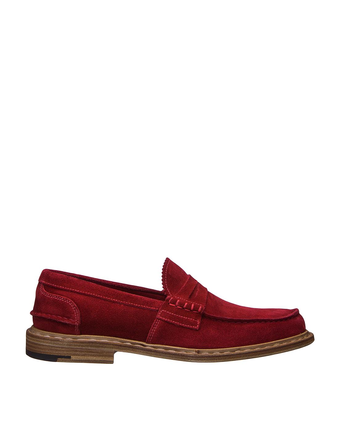 Туфли красные мужские Premiata S31404-1