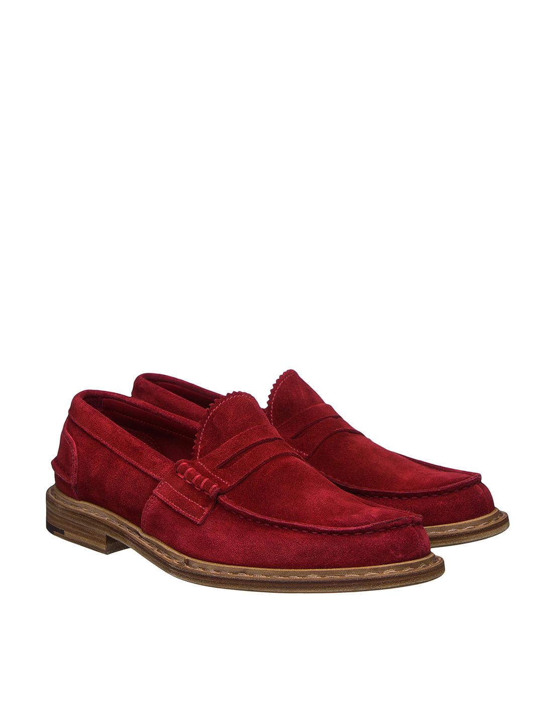 Туфли красные мужские Premiata S31404-2