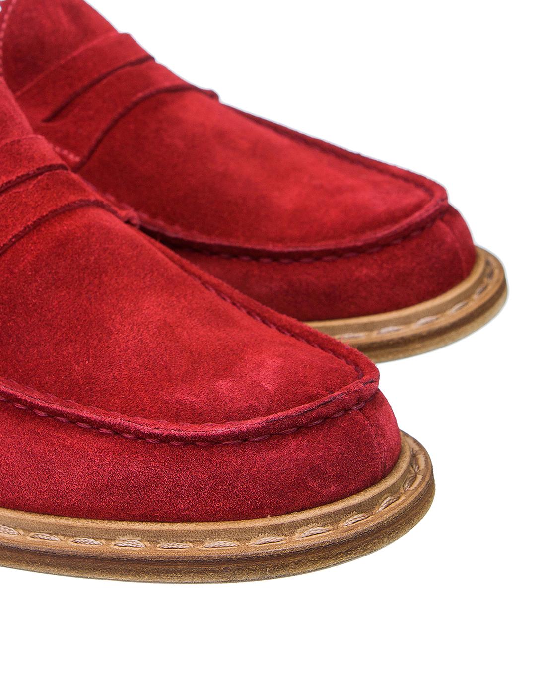 Туфли красные мужские Premiata S31404-4