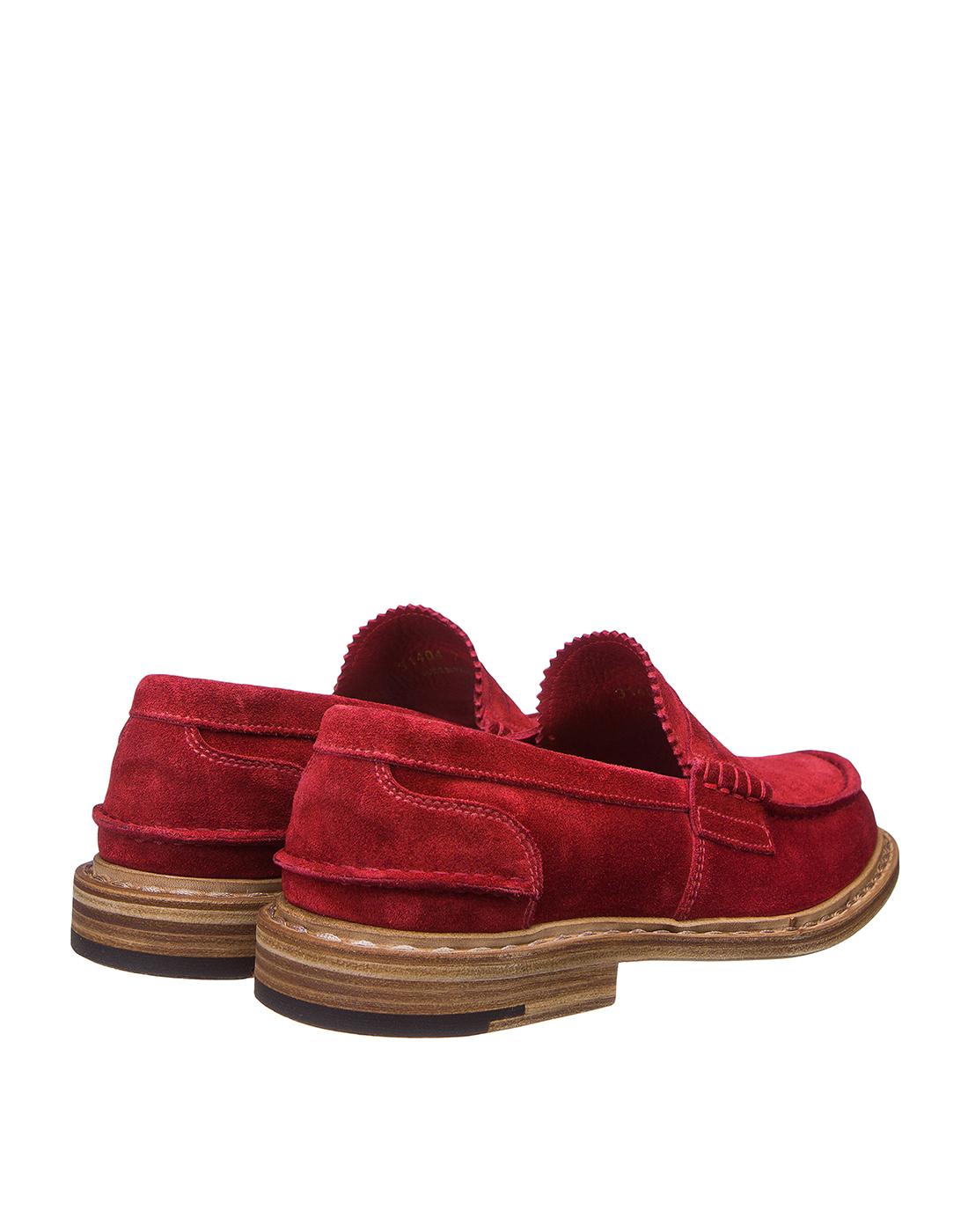 Туфли красные мужские Premiata S31404-3