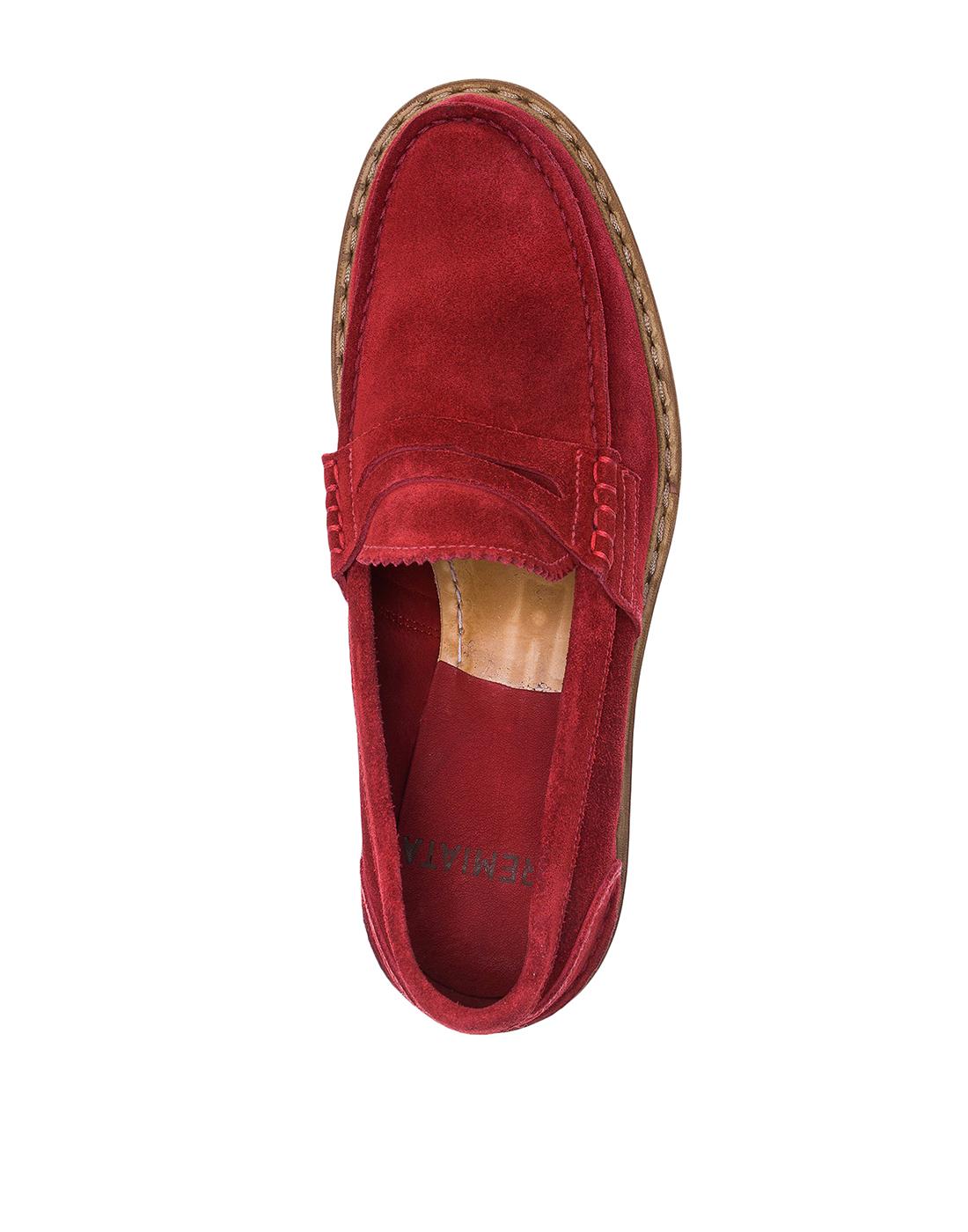 Туфли красные мужские Premiata S31404-5