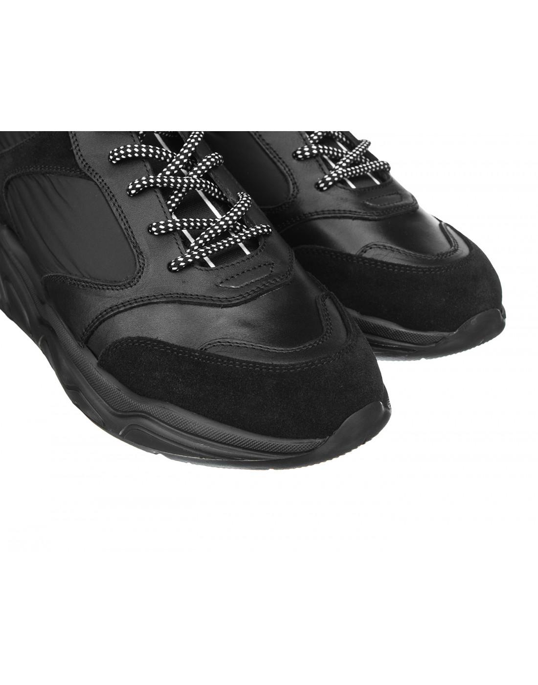 Кроссовки черные мужские Stokton S33-4