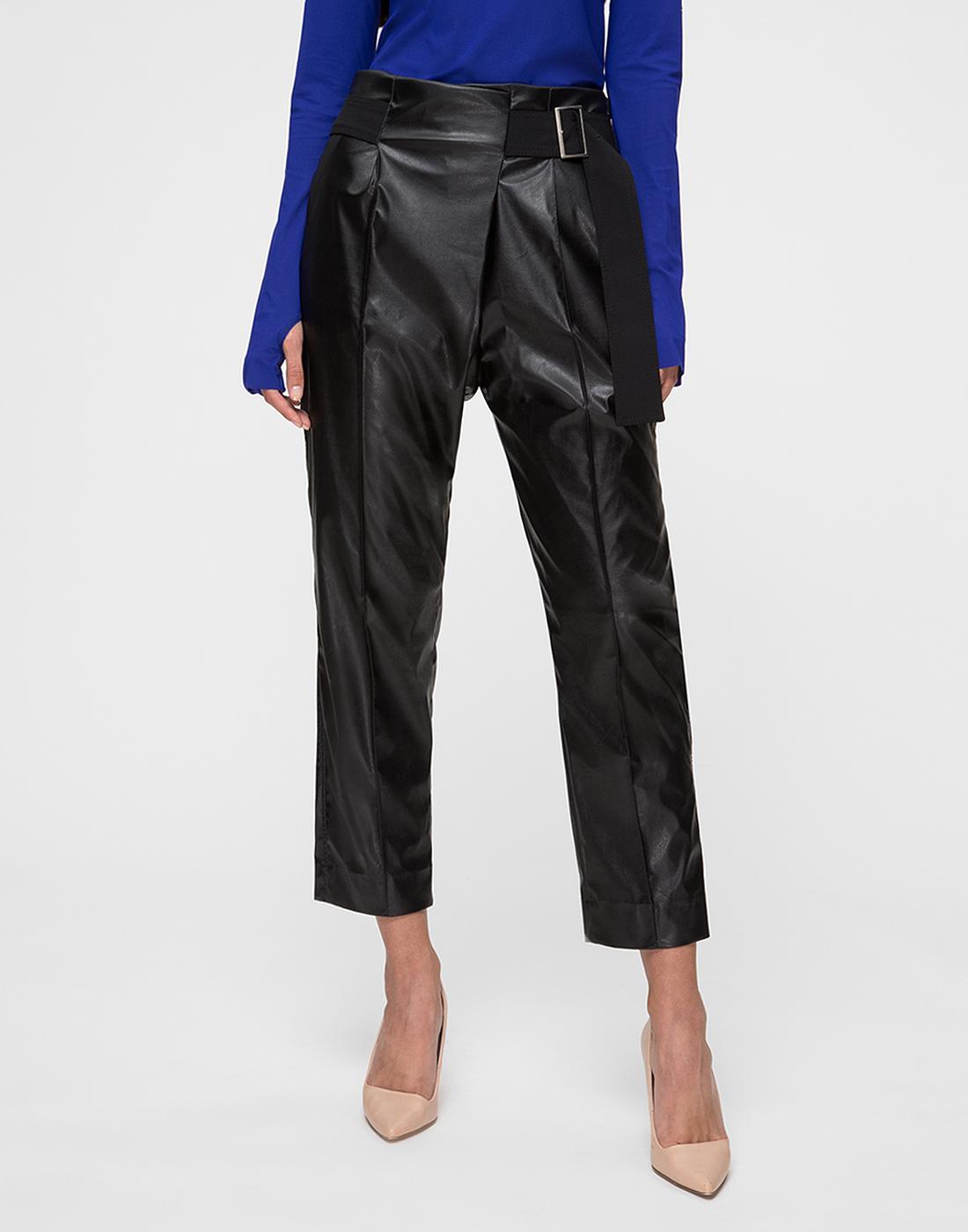 Женские черные брюки Dorothee Schumacher S546301/999-2