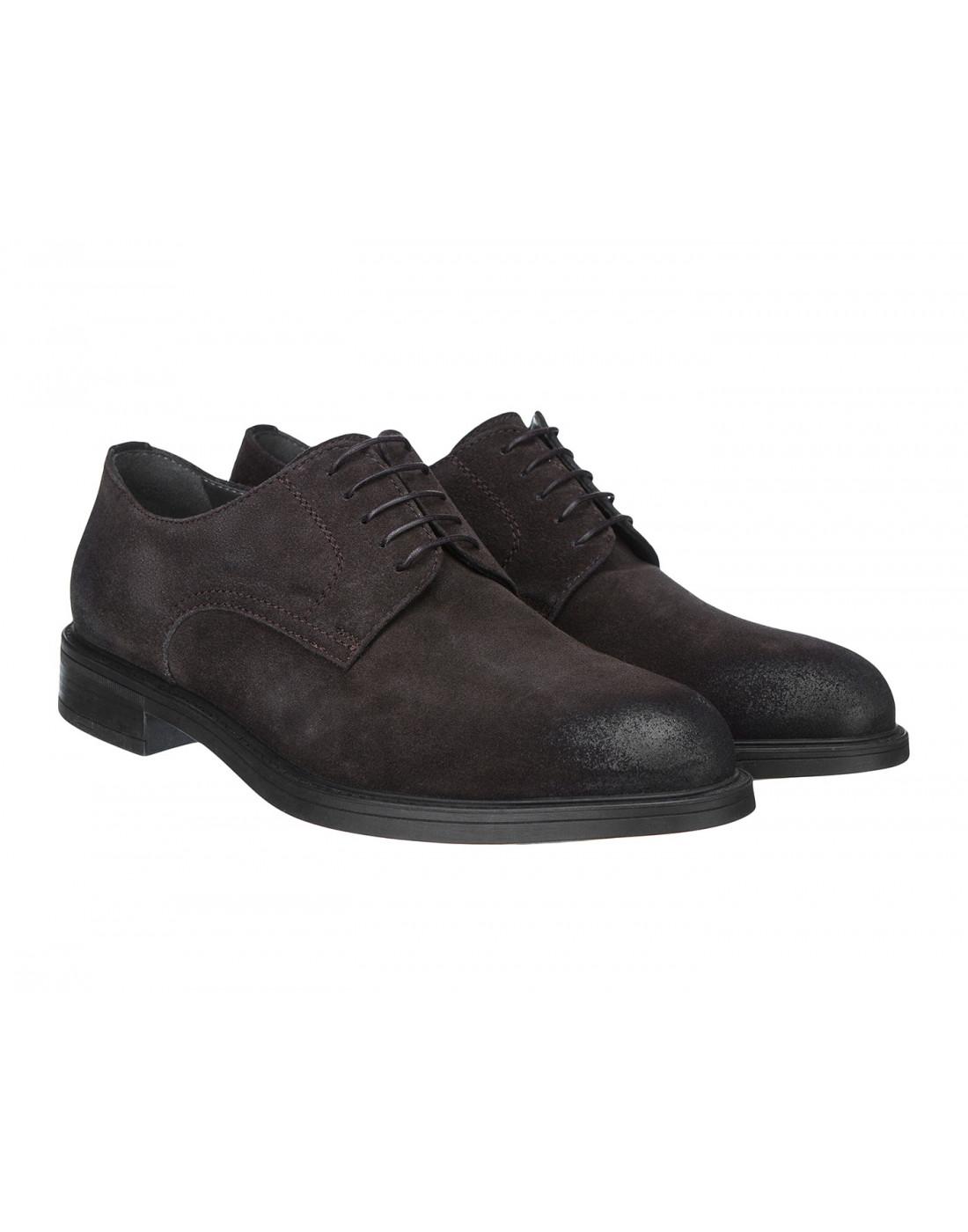 Туфли коричневые мужские