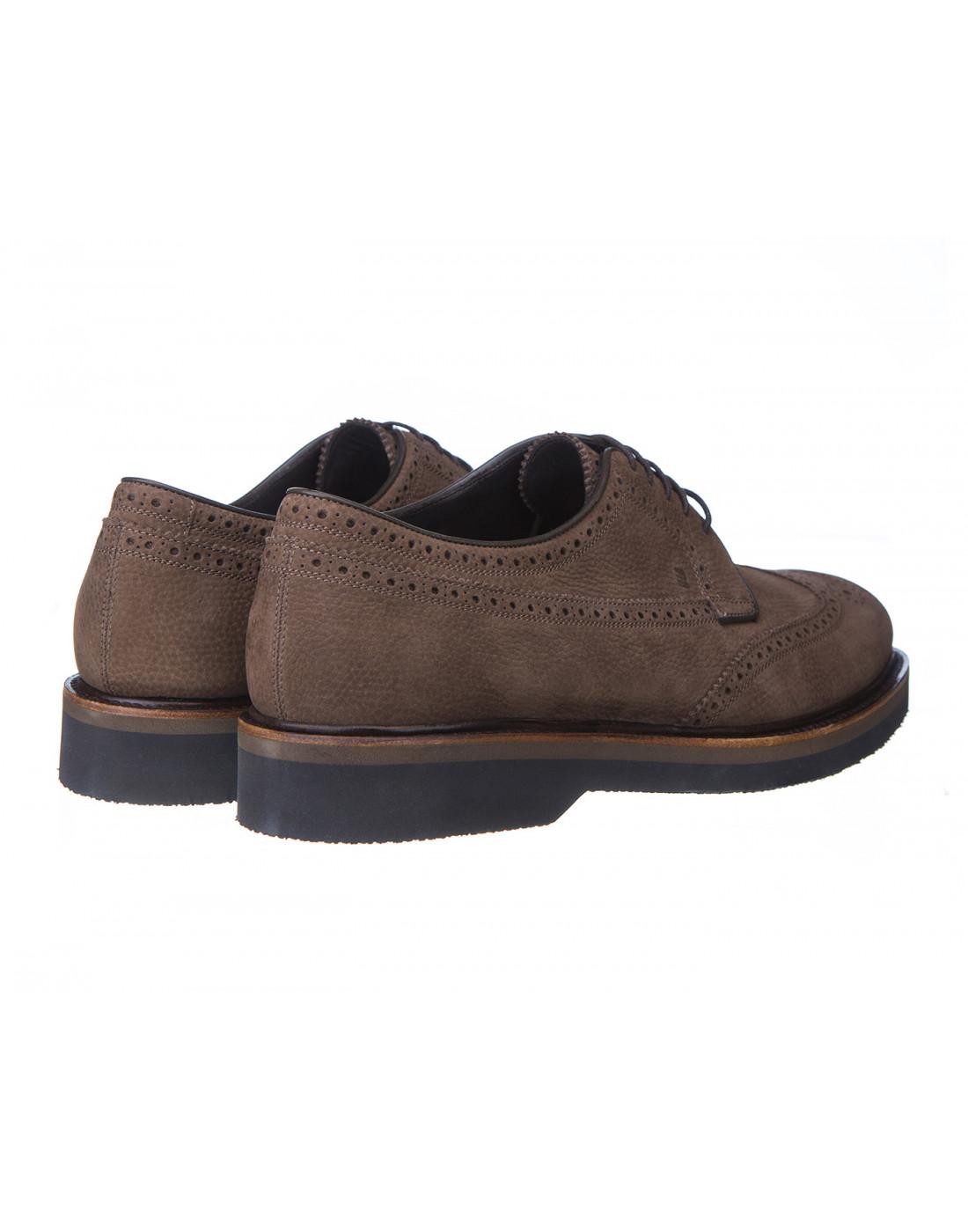 Туфли бежевые мужские Fratelli Rossetti S45900-3