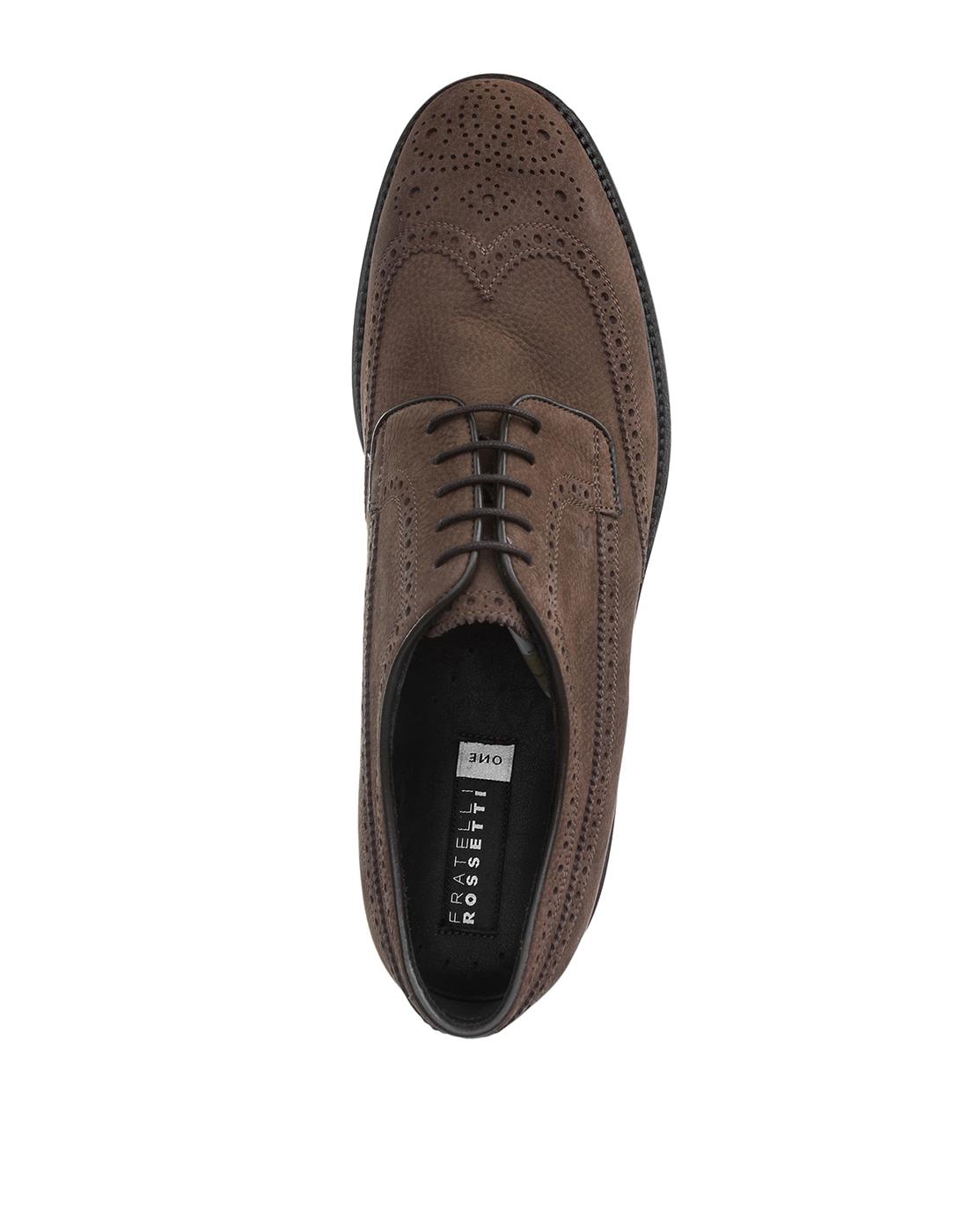 Туфли бежевые мужские Fratelli Rossetti S45900-5