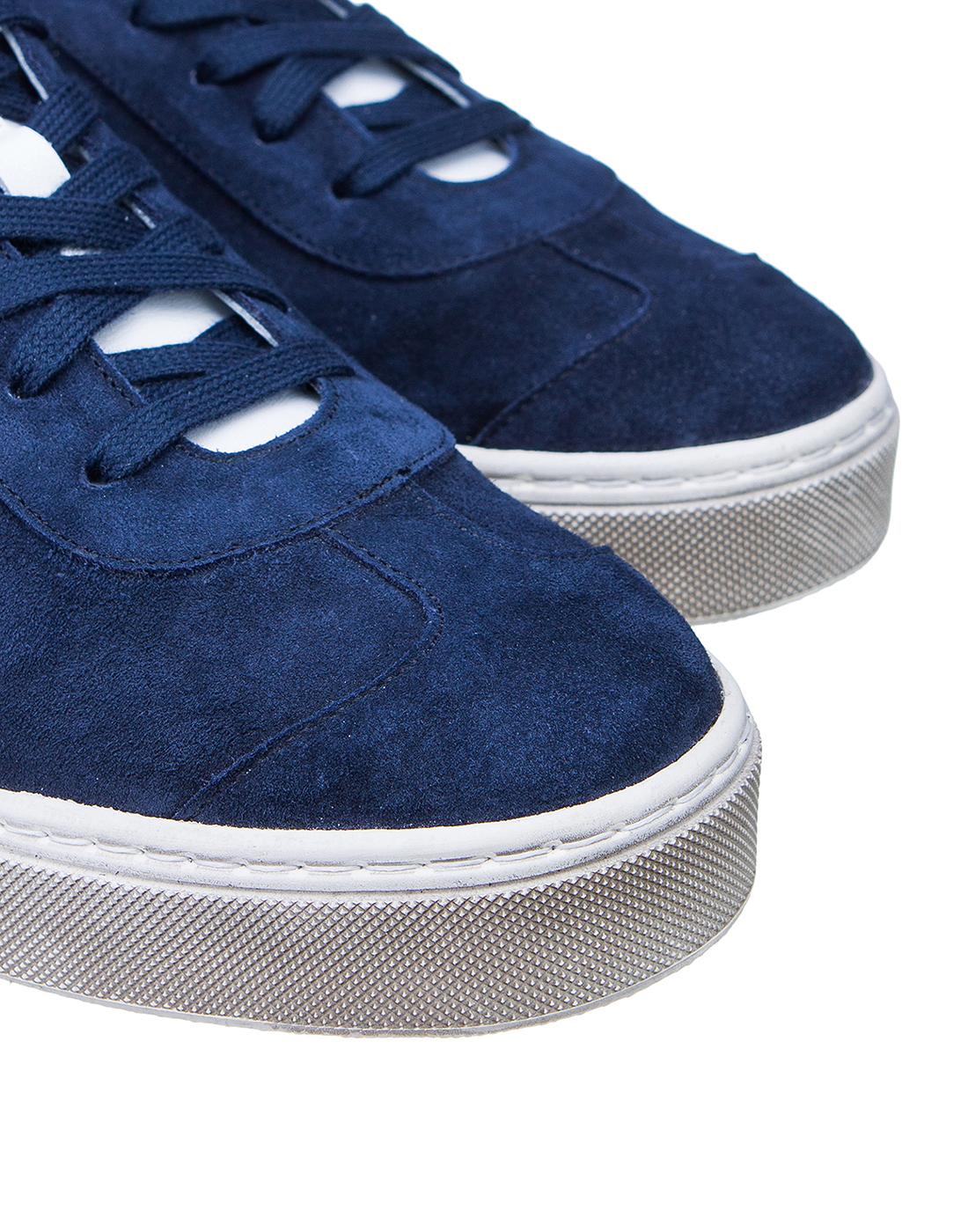 Кеды синие мужские  Pellettieri Di Parma S515060.247.152-4