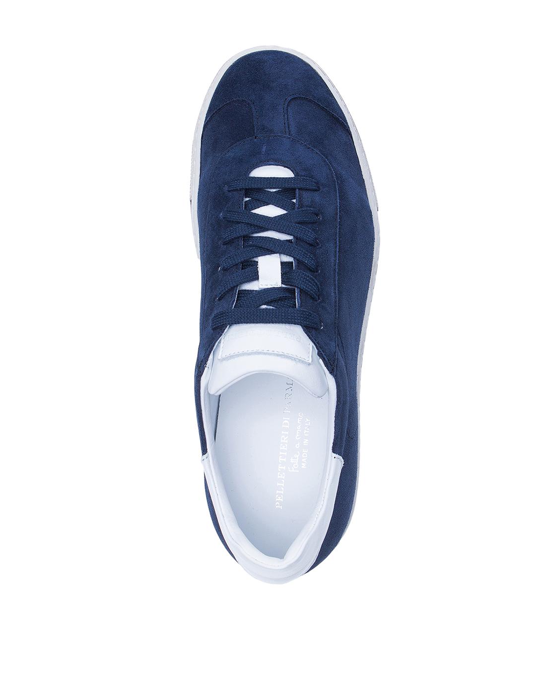 Кеды синие мужские  Pellettieri Di Parma S515060.247.152-5