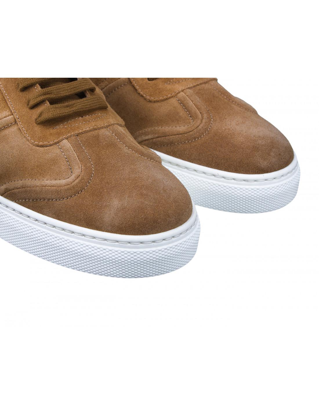 Кроссовки коричневые мужские Stokton S532-4