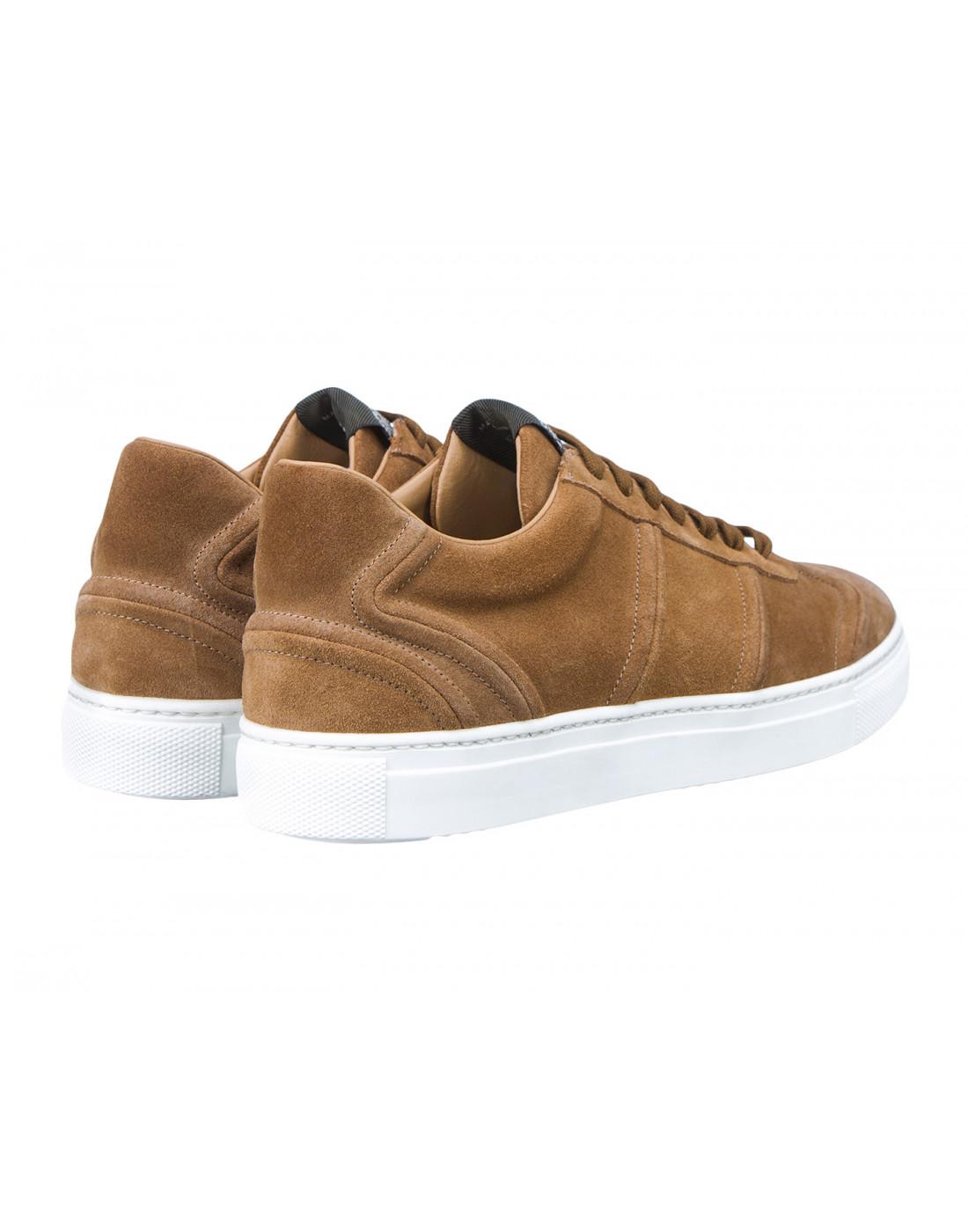 Кроссовки коричневые мужские Stokton S532-3