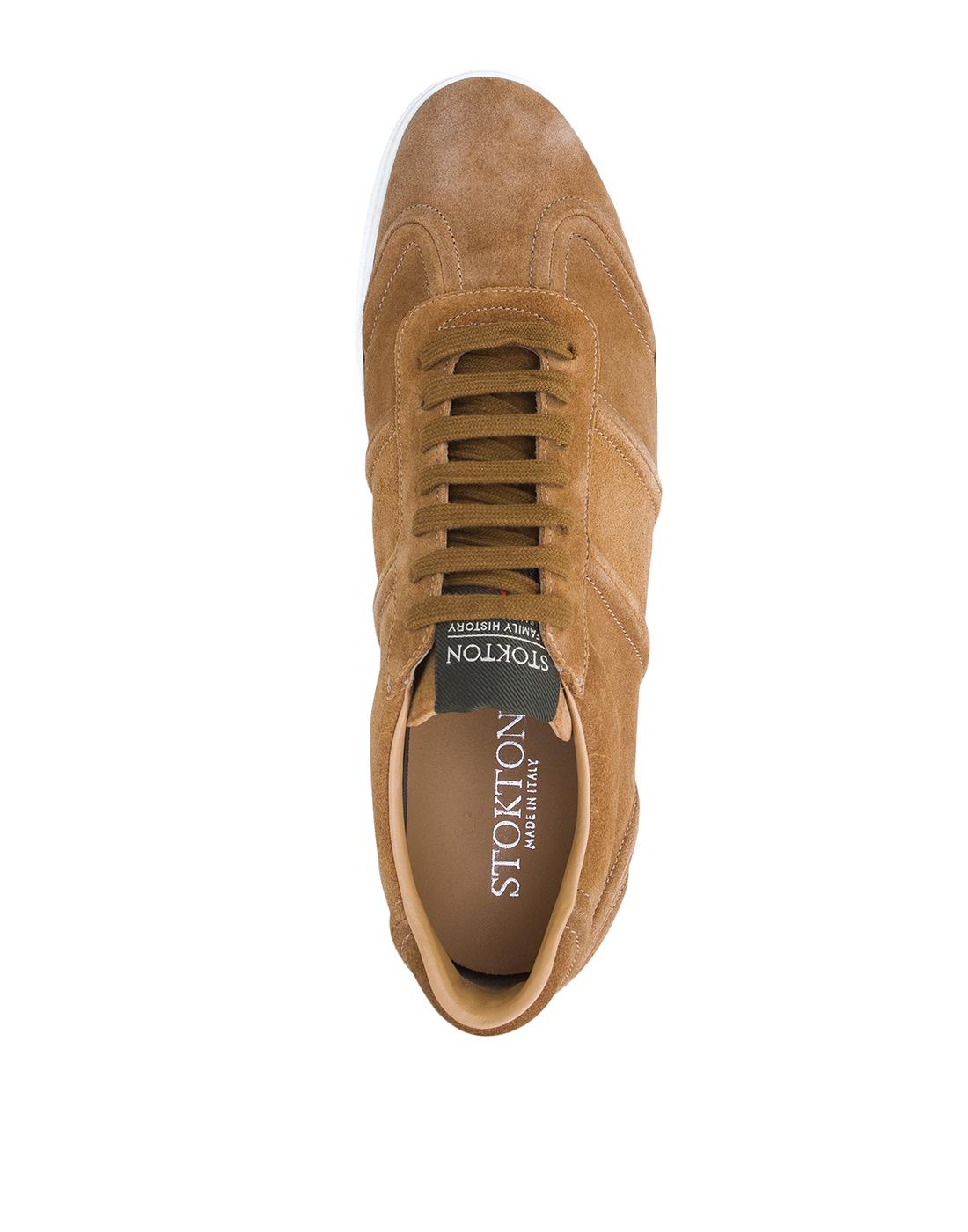 Кроссовки коричневые мужские Stokton S532-5