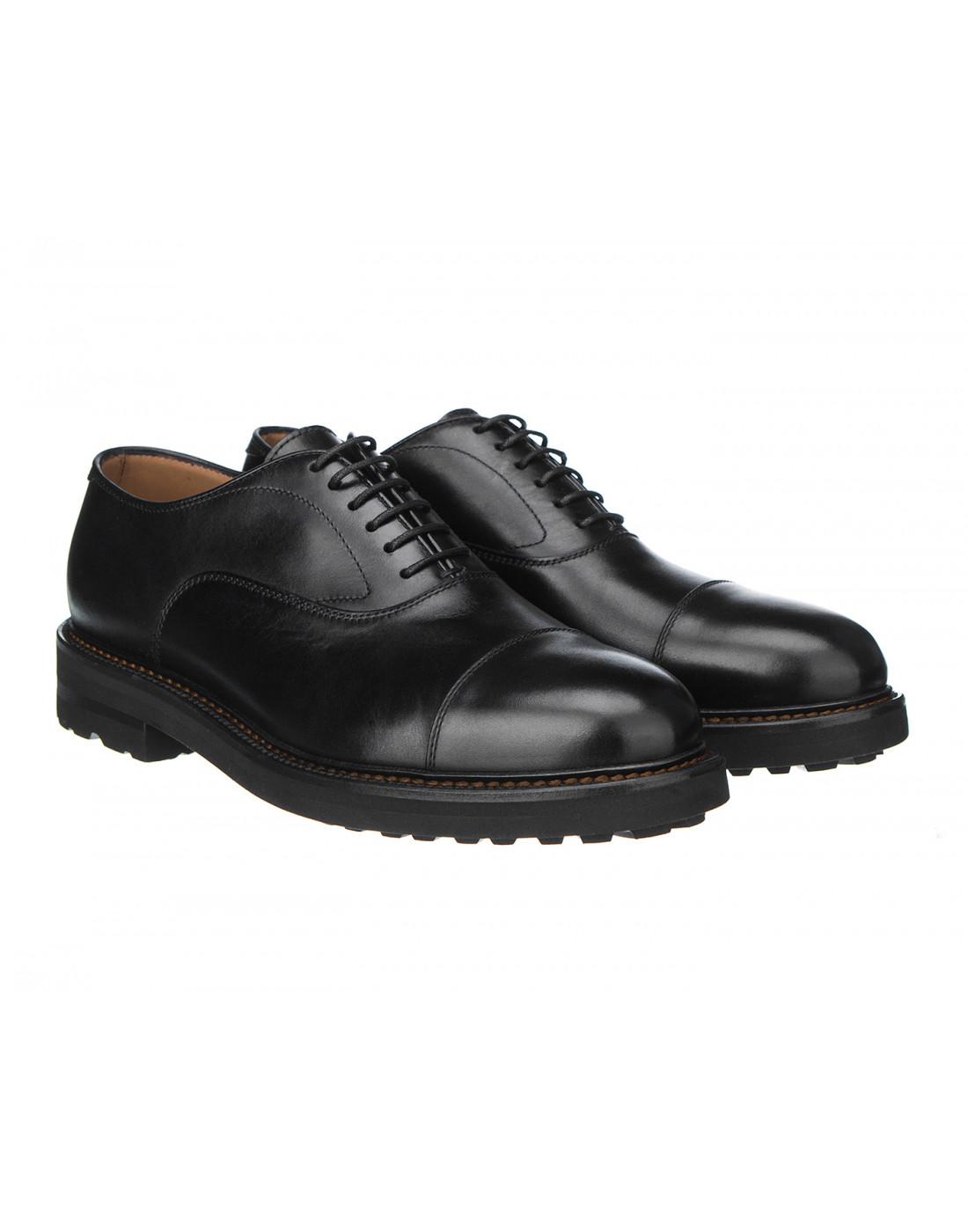 Туфли черные мужские Henderson S58304-2