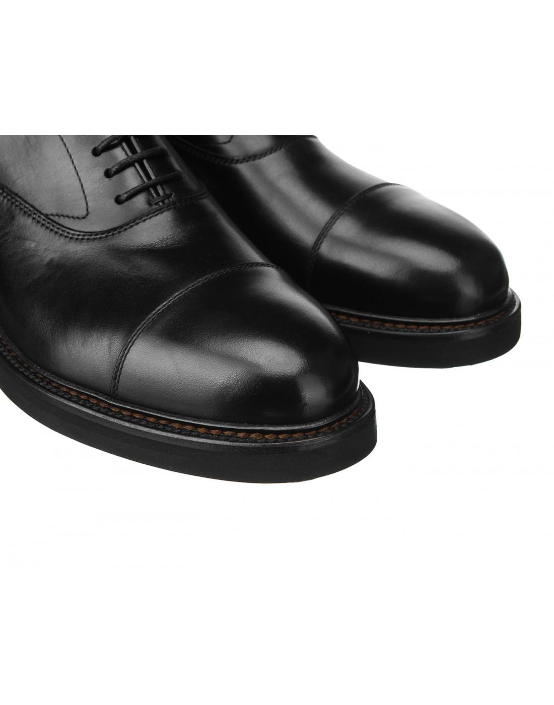 Туфли черные мужские Henderson S58304-4
