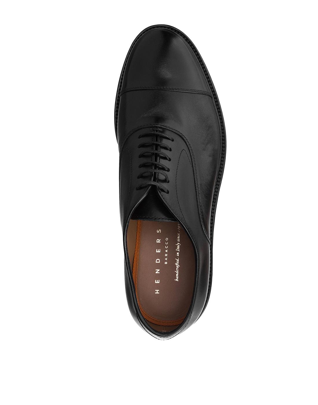 Туфли черные мужские Henderson S58304-5