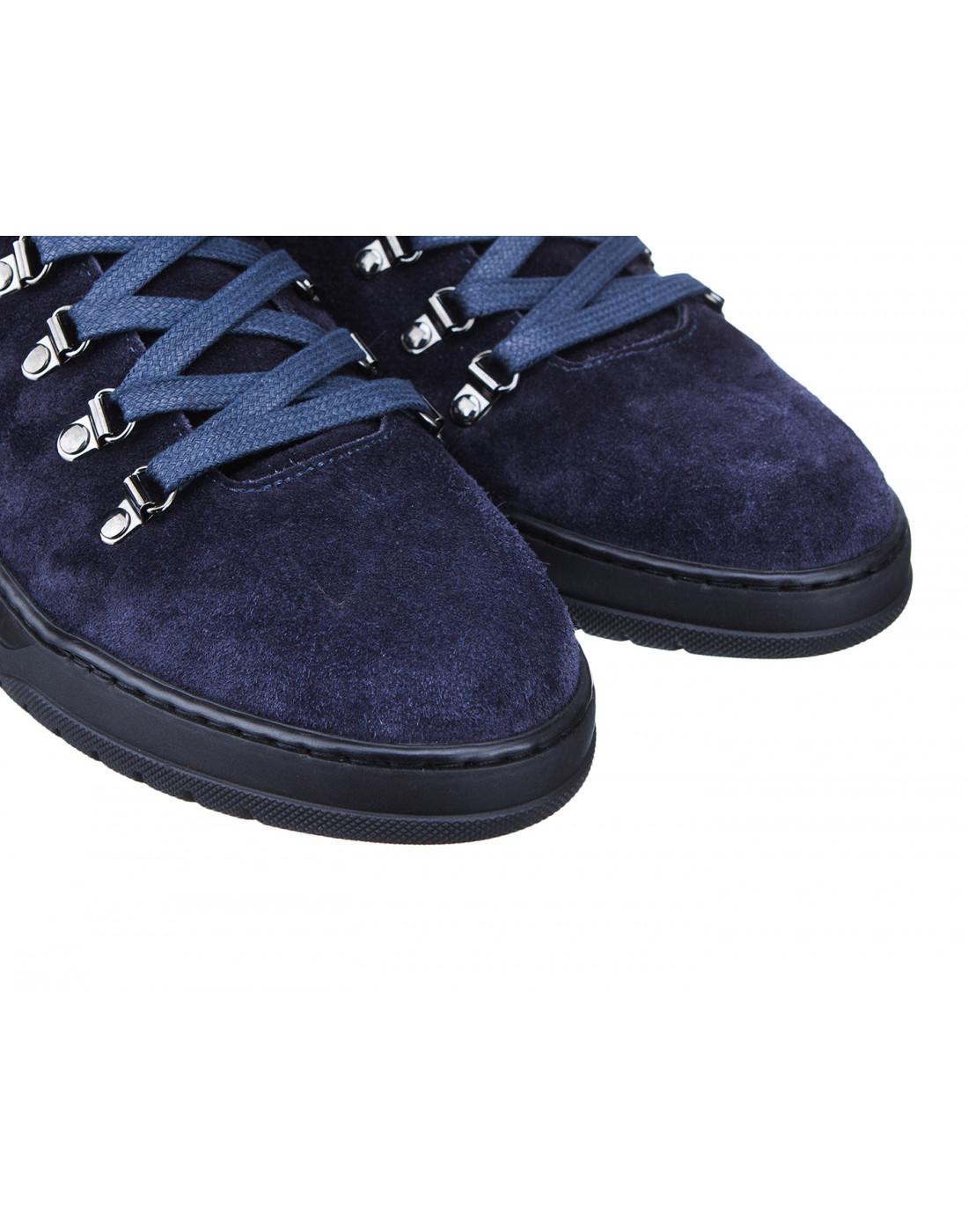 Кроссовки синие мужские Stokton S667 BLUE-4