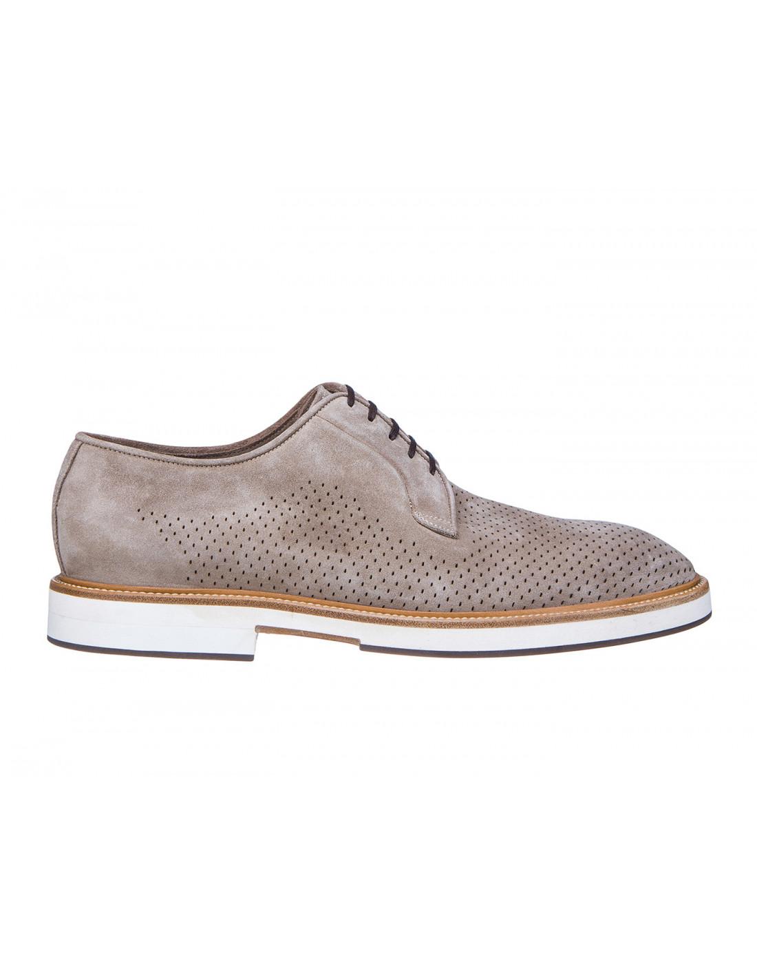 Туфли коричневые мужские Brecos S7521-1