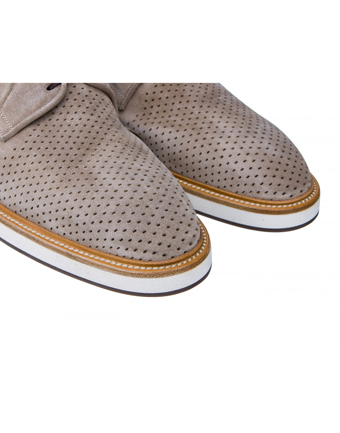 Туфли коричневые мужские Brecos S7521-4