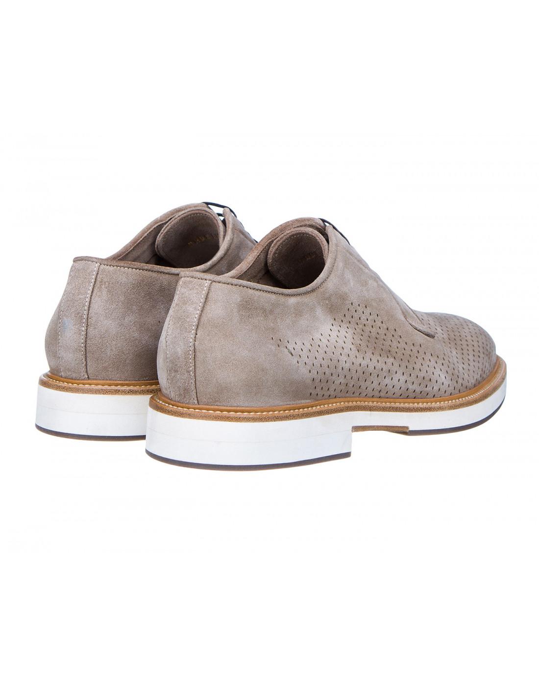 Туфли коричневые мужские Brecos S7521-3
