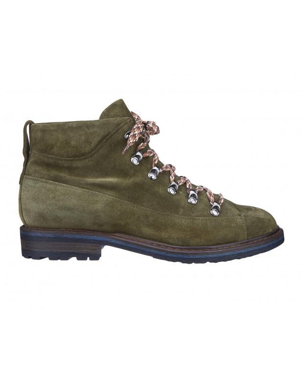Ботинки зеленые мужские