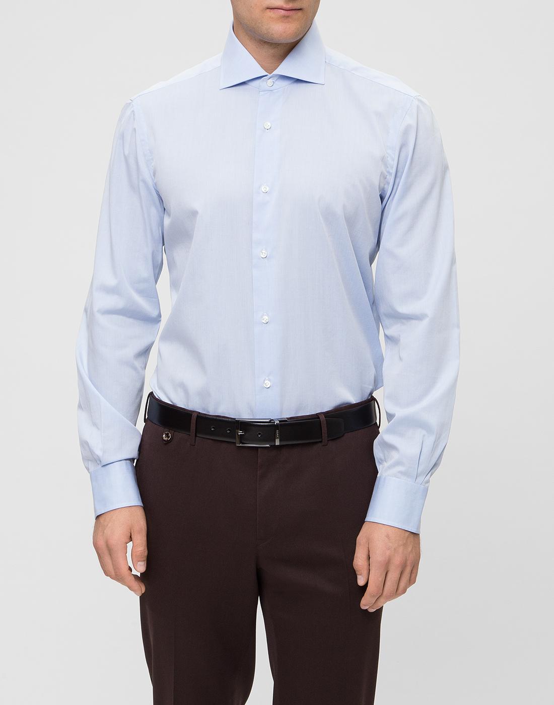 Мужская голубая рубашка Barba SD2U634540303U-2
