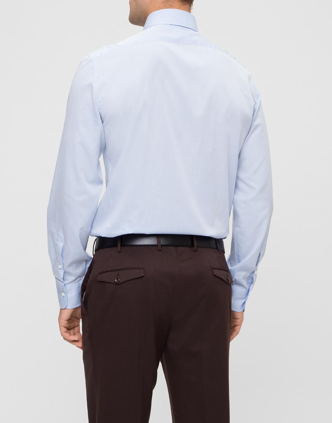 Мужская голубая рубашка Barba SD2U634540303U-4