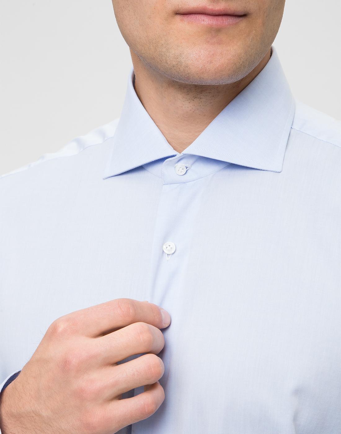 Мужская голубая рубашка Barba SD2U634540303U-6