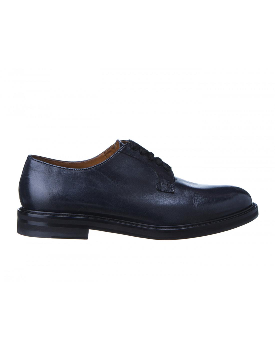 Туфли синие женские Doucal's SD8257-1