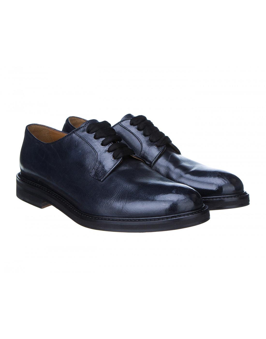 Туфли синие женские Doucal's SD8257-2