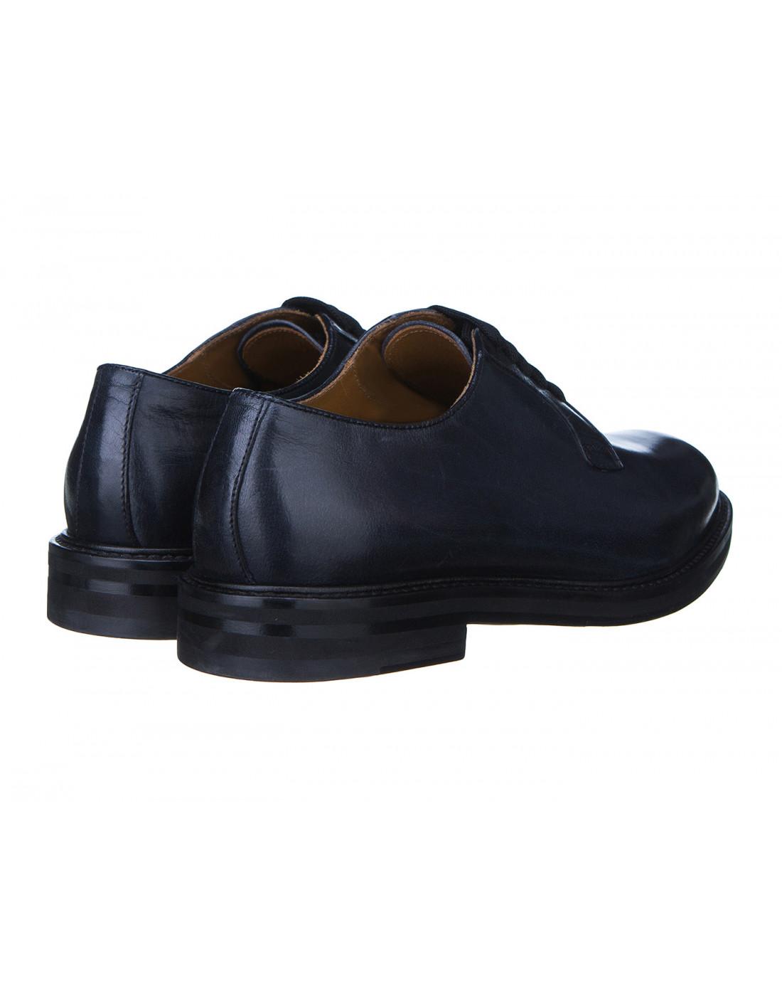 Туфли синие женские Doucal's SD8257-3