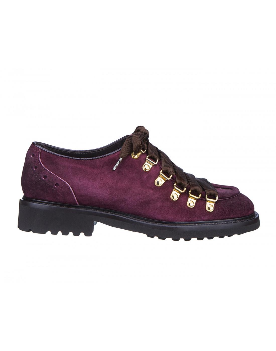 Туфли бордовые женские Doucal's SD8276-1