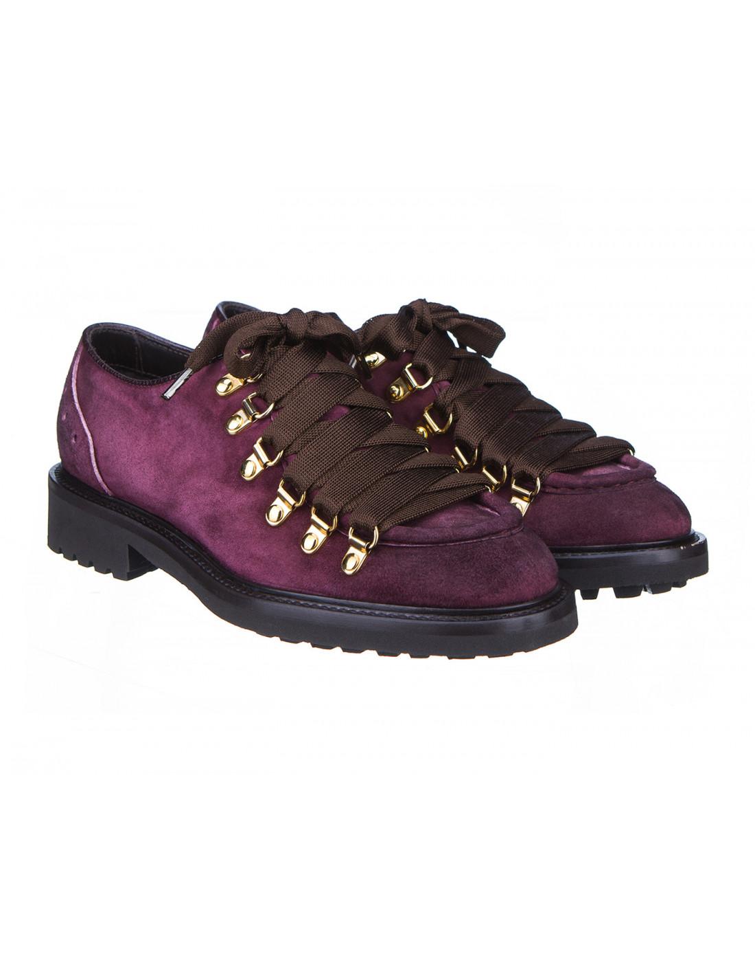 Туфли бордовые женские Doucal's SD8276-2