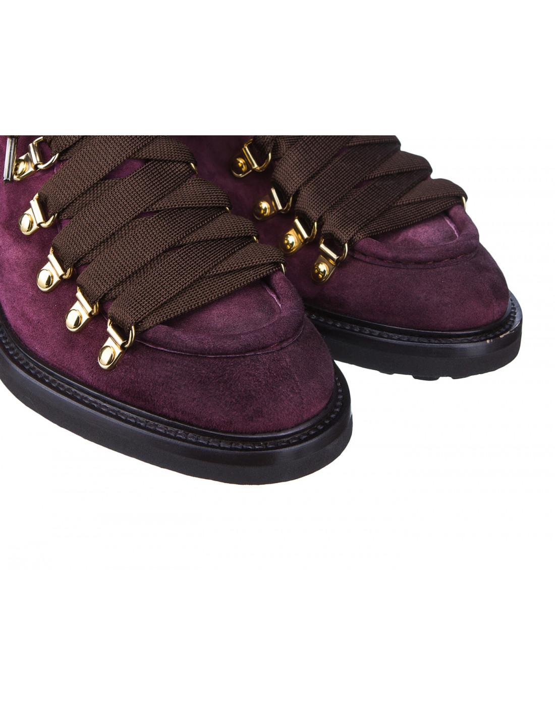 Туфли бордовые женские Doucal's SD8276-4
