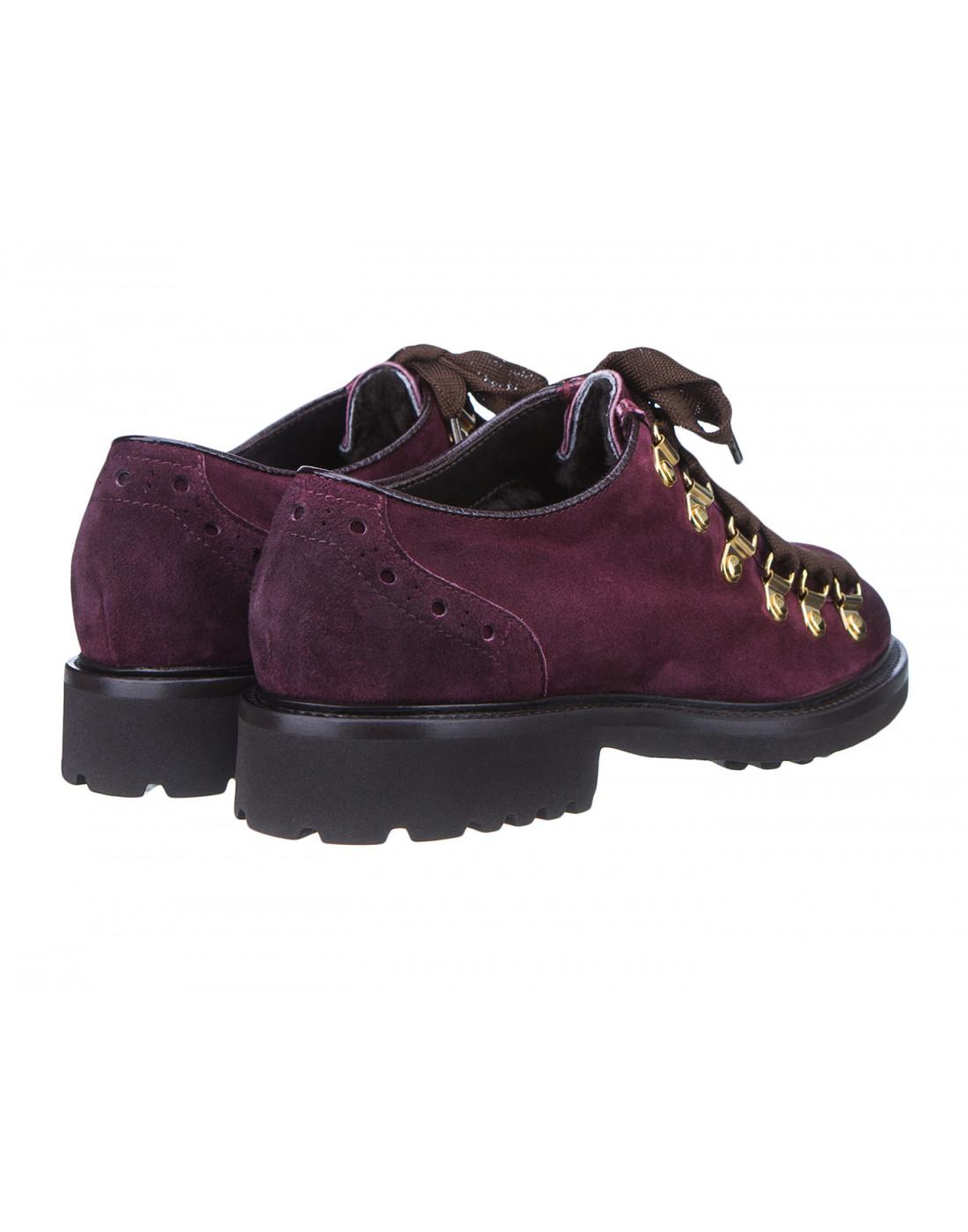 Туфли бордовые женские Doucal's SD8276-3