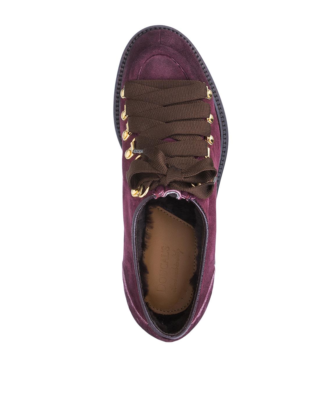 Туфли бордовые женские Doucal's SD8276-5