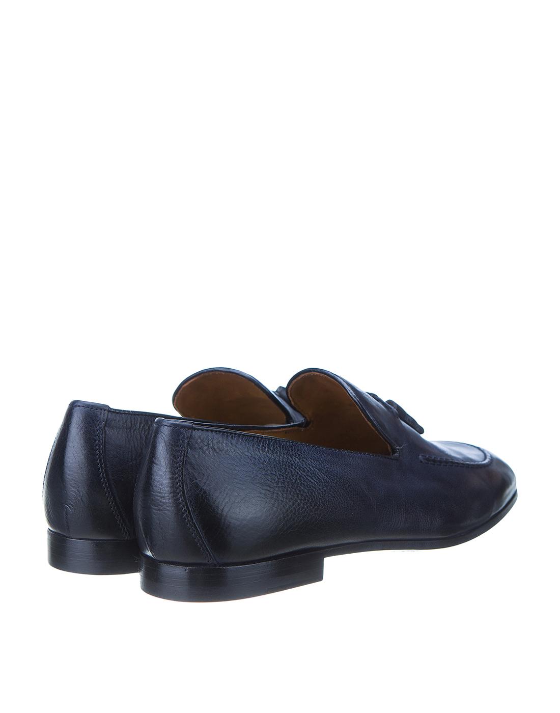 Лоферы синие мужские Doucal's SDU1080CAPRUF036NB00-3