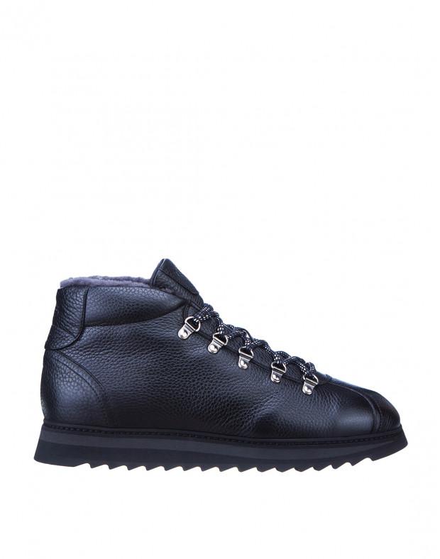 Ботинки черные мужские