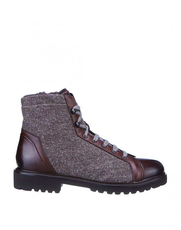 Ботинки коричневые мужские