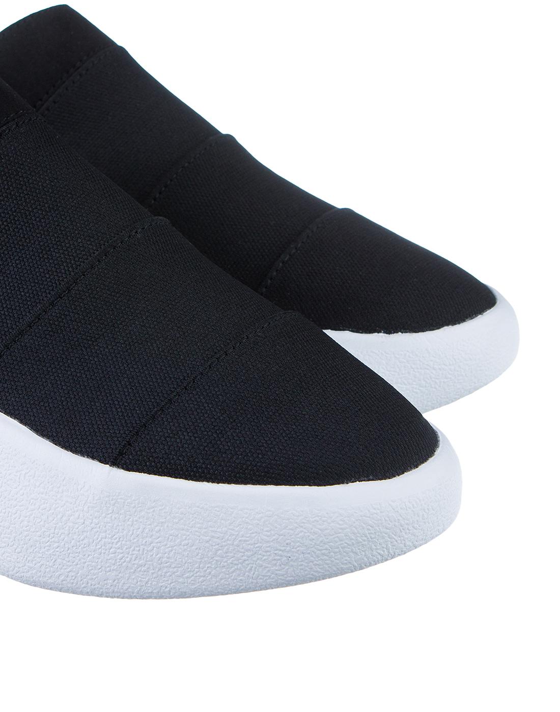 Кроссовки черные женские  FESSURA SSHA019 BLACK-4