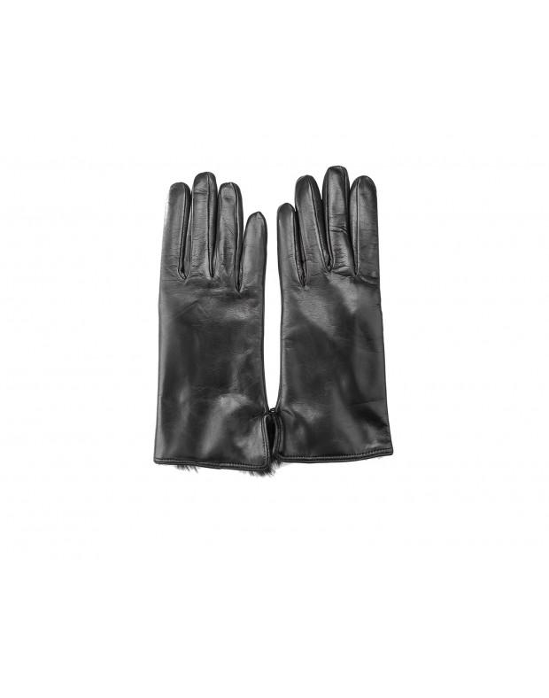 Перчатки черные женские