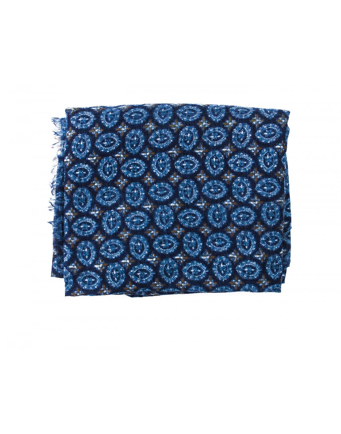 Шарф голубой мужской Lardini SIGSC65 IG51193-2