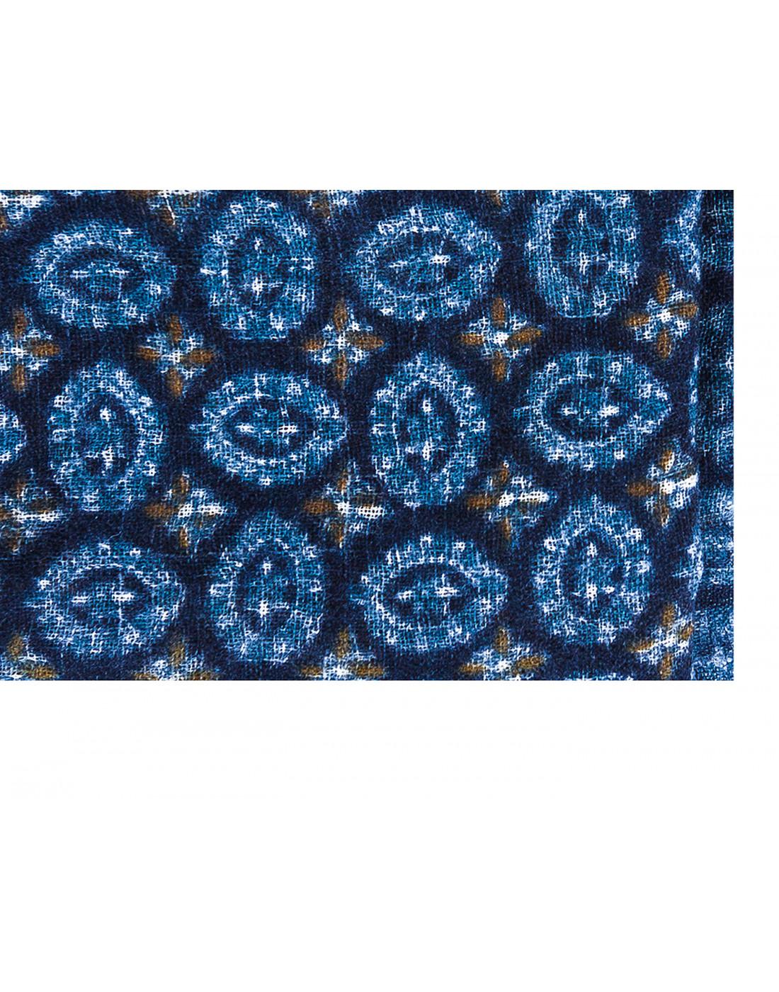 Шарф голубой мужской Lardini SIGSC65 IG51193-3