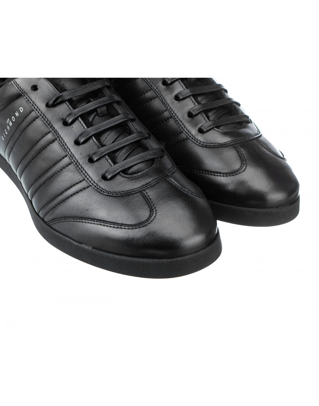 Кроссовки черные мужские John Richmond S8147/M VAR B-4