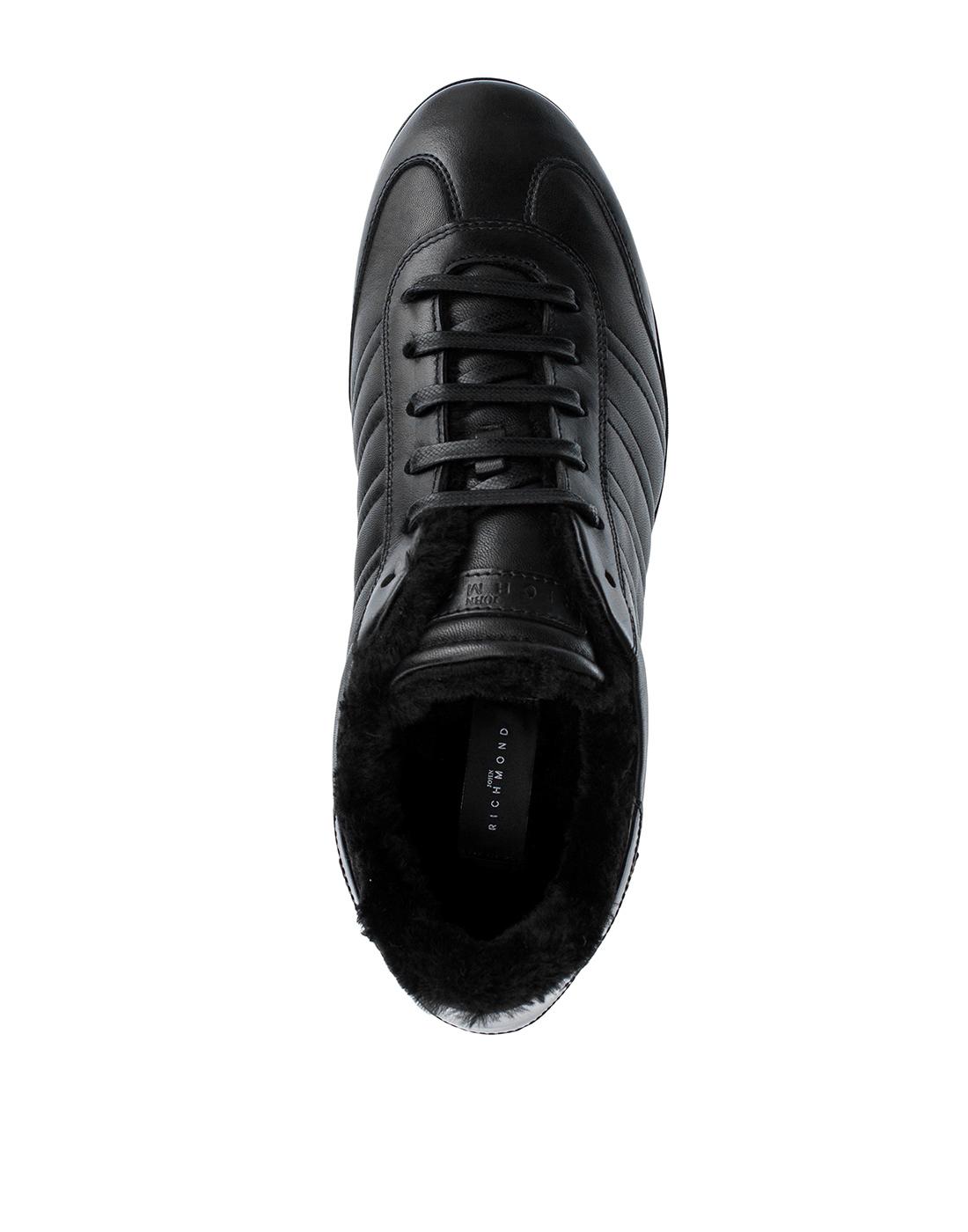Кроссовки черные мужские John Richmond S8147/M VAR B-5
